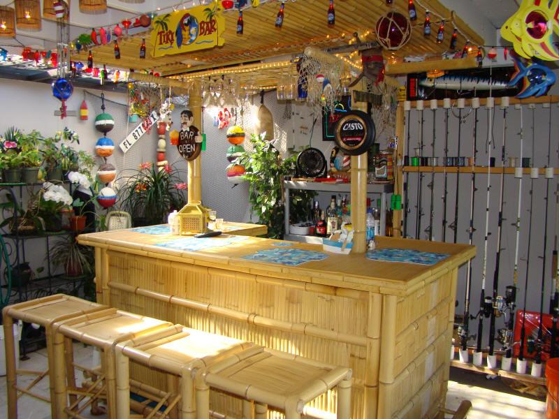 Wonderful Our Patio Tiki Bar (May 2008)